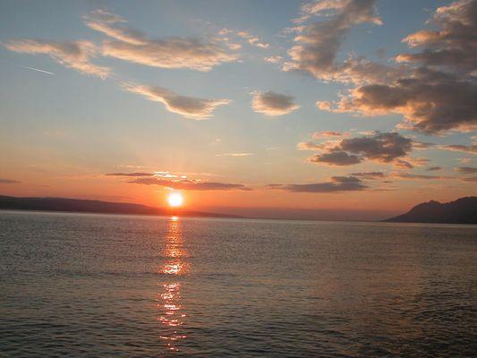 Sundown in Croatia