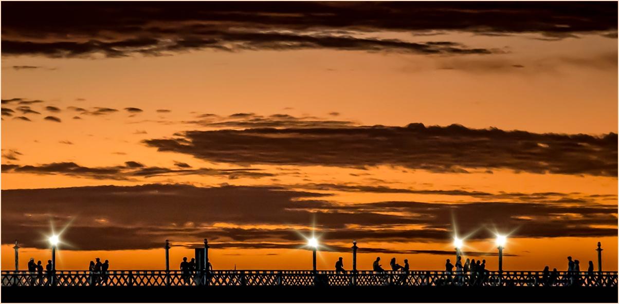 Sundown in Fortaleza...