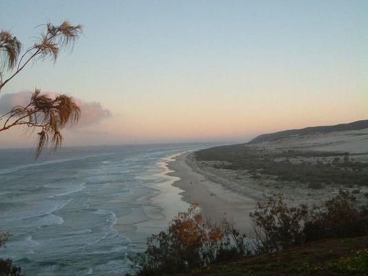 Sundown in Indian Heads/Frazer Island