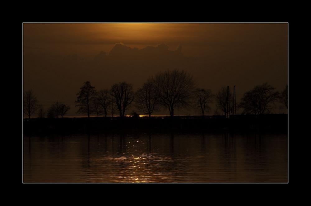 Sundown in Lindau/B