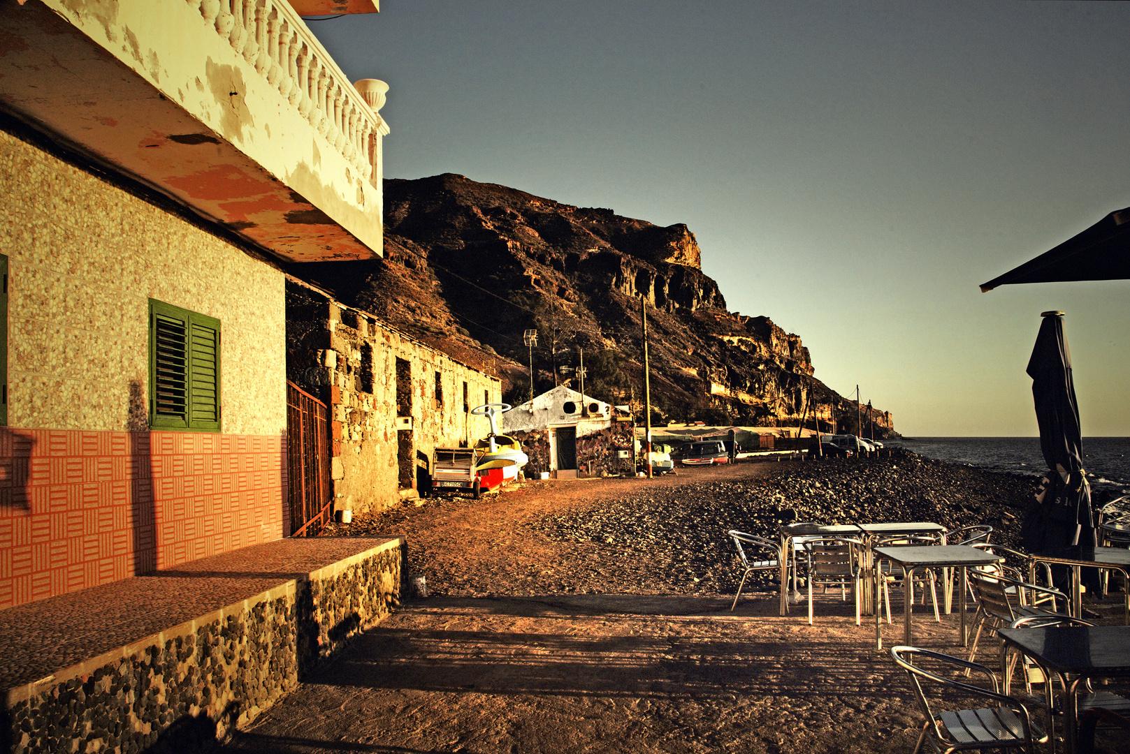 sundown in playa de taserte | gran canaria
