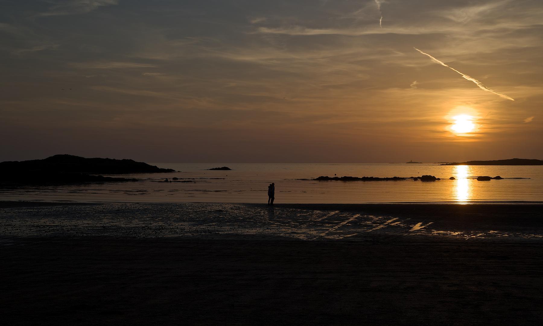 Sundown in Rhosneigr