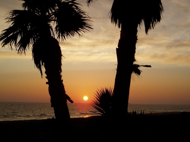 Sundown in Spain