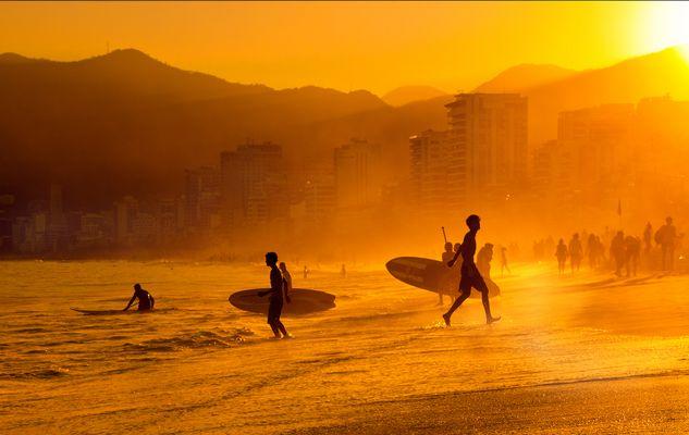 Sundown Ipanema Beach
