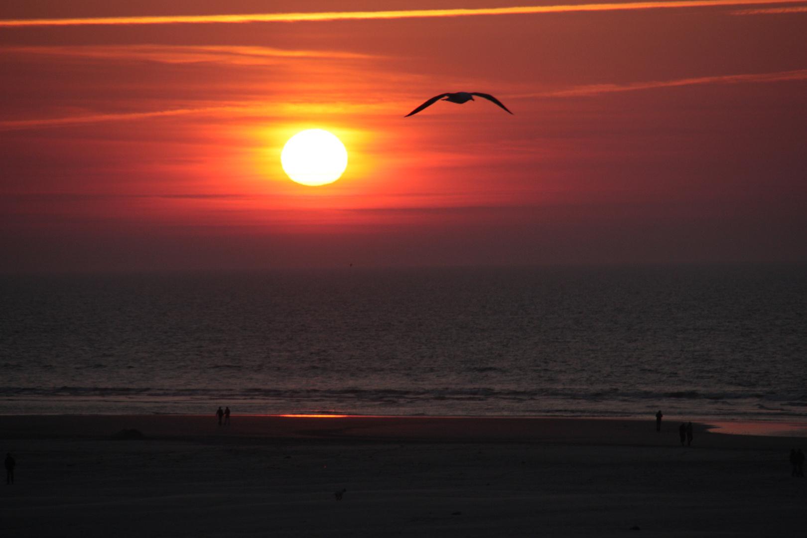Sundown Juist