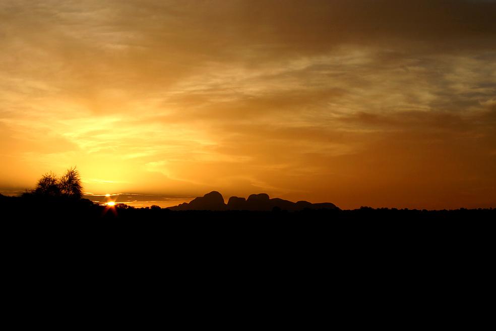 Sundown Kata Tjuta