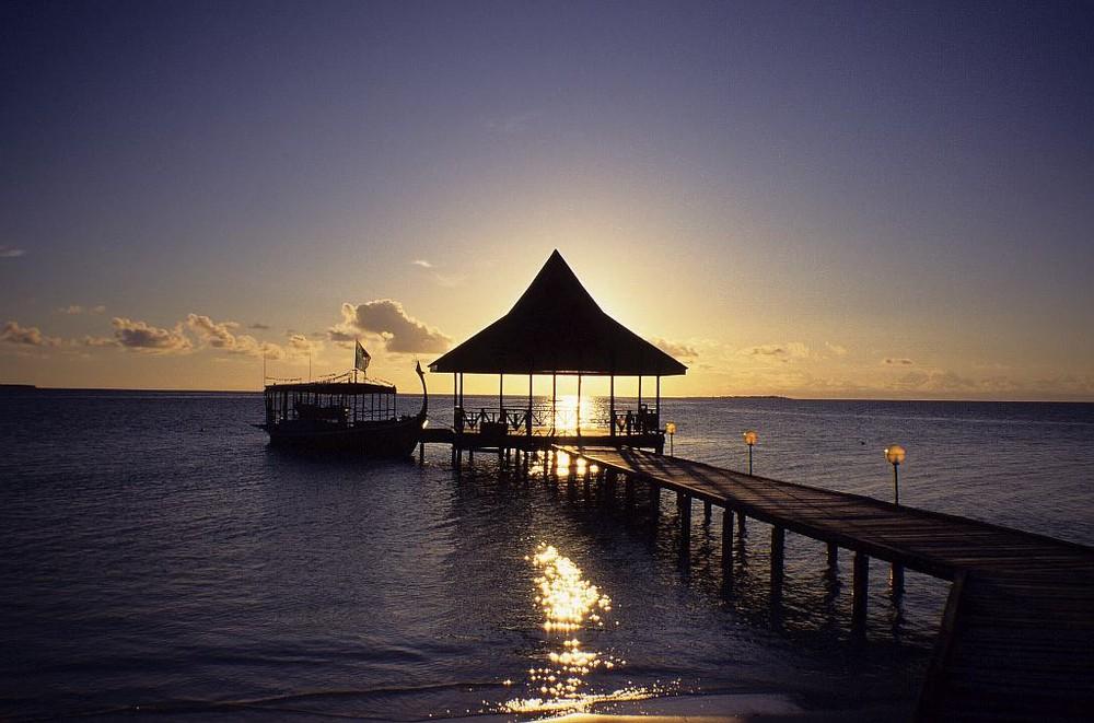 Sundown Malediven