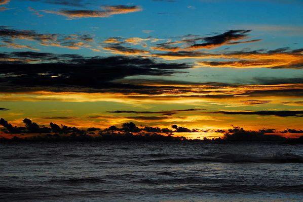 Sundown on Mahé