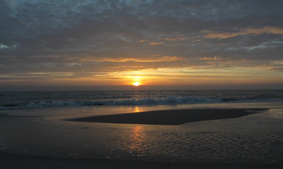 Sundown on Sylt