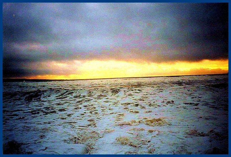 Sundown on the Irish Coast