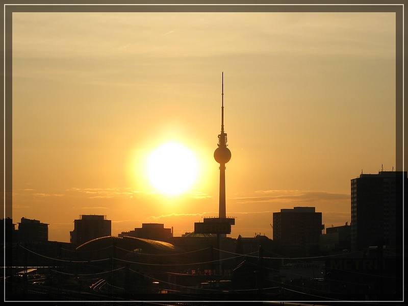 Sundown over Berlin