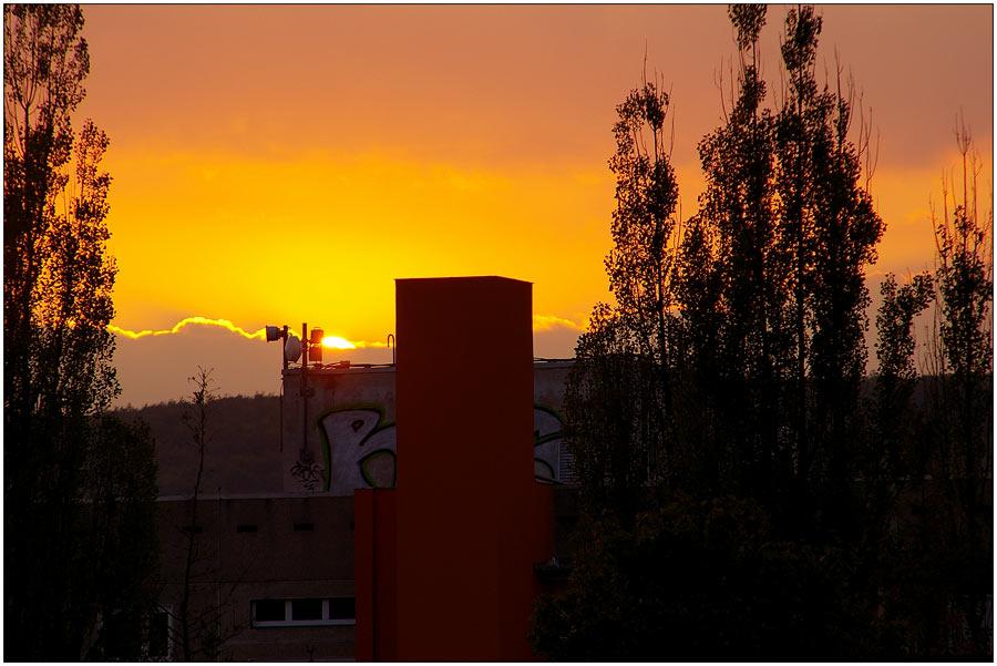 Sundown over Jerusalem