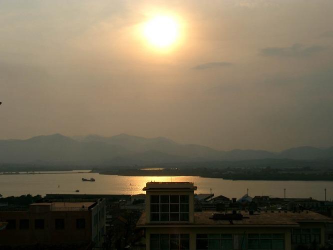 Sundown over Santiago de Cuba