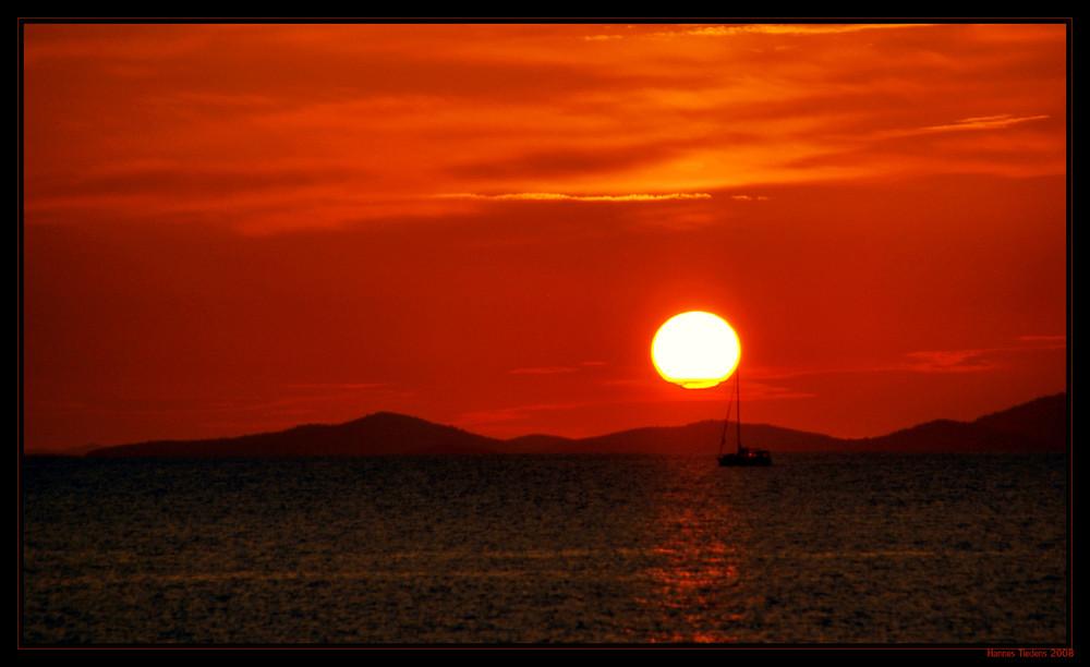 """""""Sundown"""" - Primosten"""