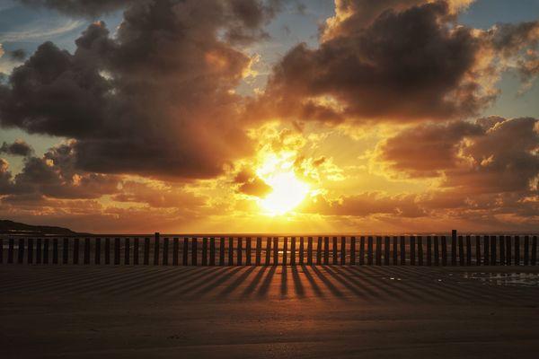 Sundown Wangerooge 2015-09-01