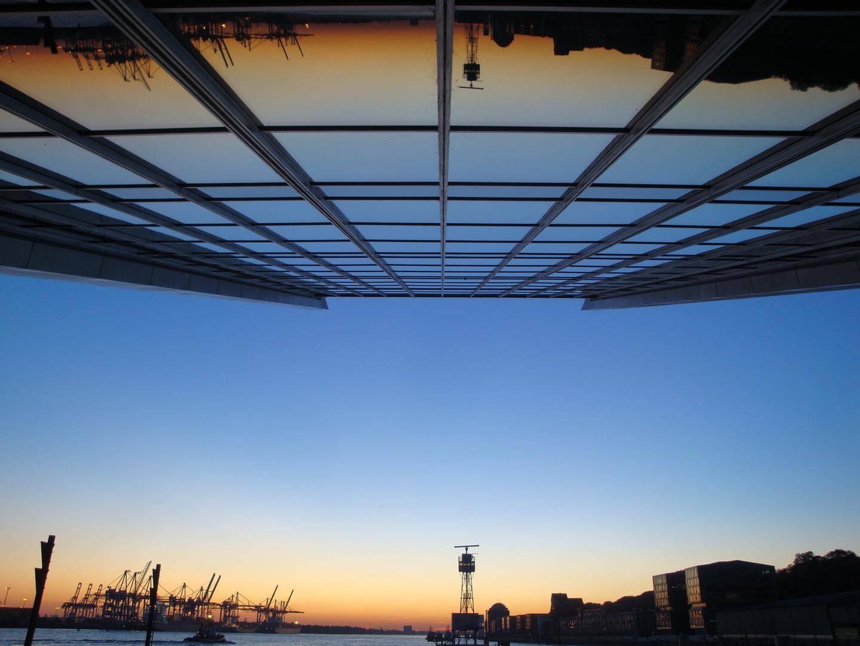 Sundowner am Dockland