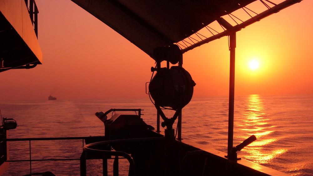 Sundowner im Mittelmeer
