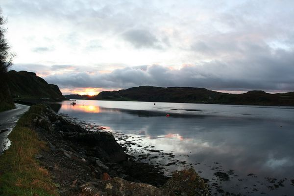 Sundowner Oban Scotland