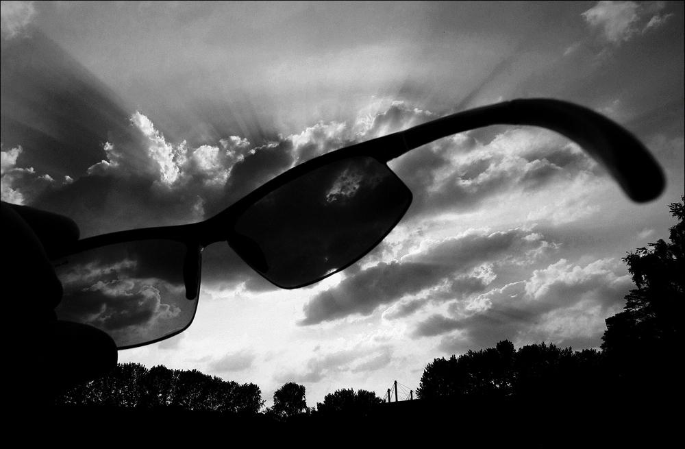 Sunglasses protect