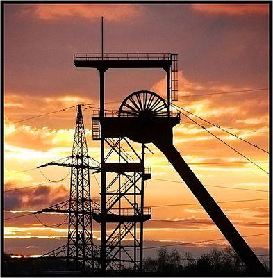 Sunny winding tower