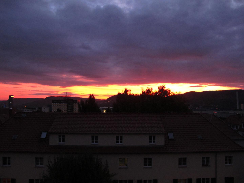 Sunrace über Jena