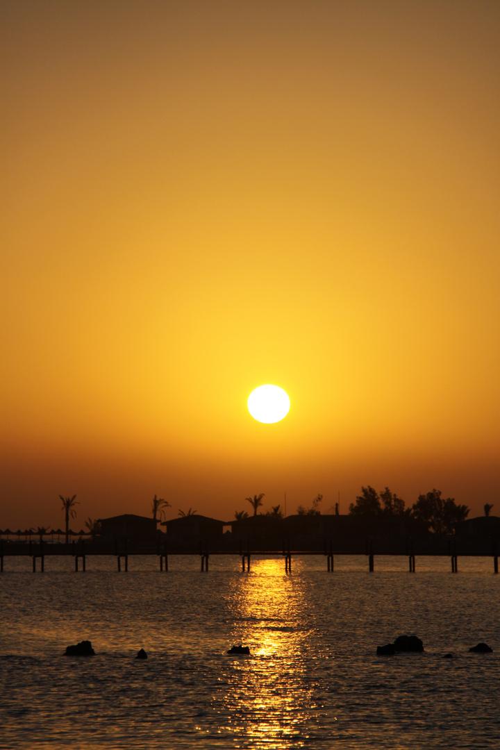 Sunrice at Red Sea