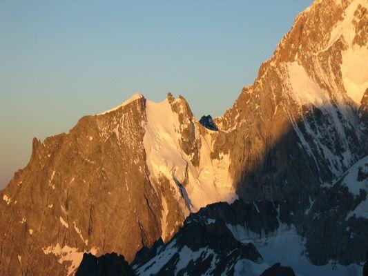 Sunrise am Mt.Blanc