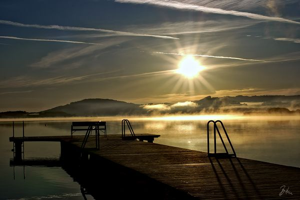 Sunrise am Wallersee 2