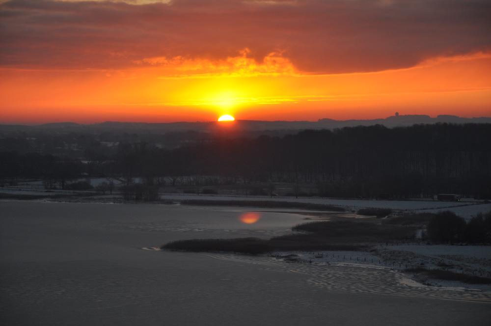 Sunrise an der Schlei