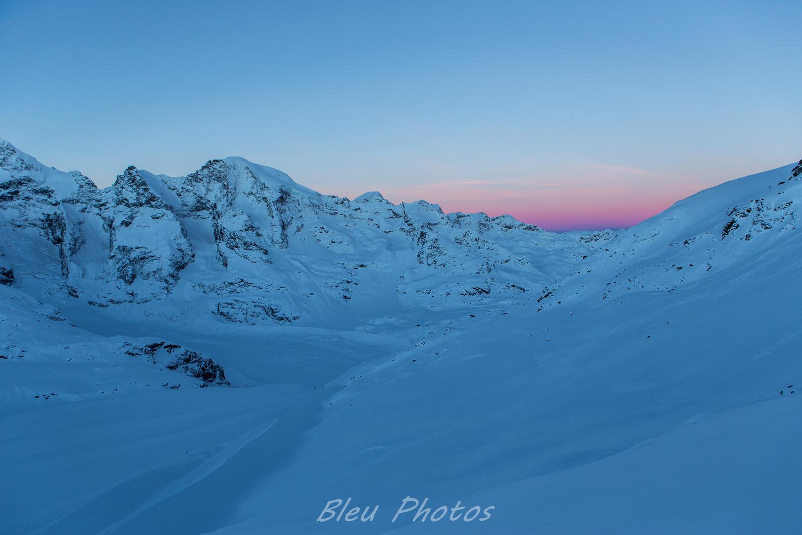 sunrise at 3000m