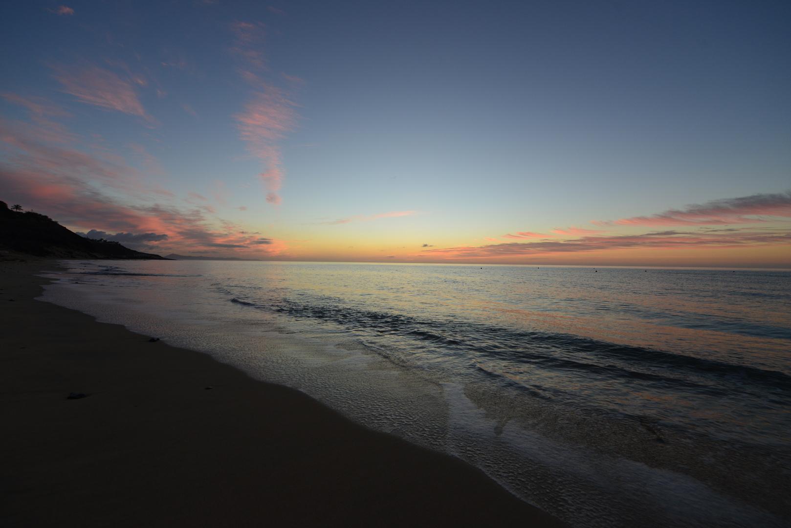 Sunrise at Fuerte Venture