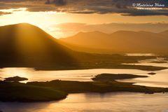 • Sunrise at Knock na d'Tobar