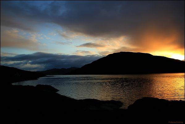Sunrise at Kyle Rhea, Scotland - Sonnenaufgang in Caol Reatha, Isle of Skye Schottland