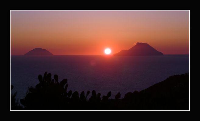 Sunrise at Lipari