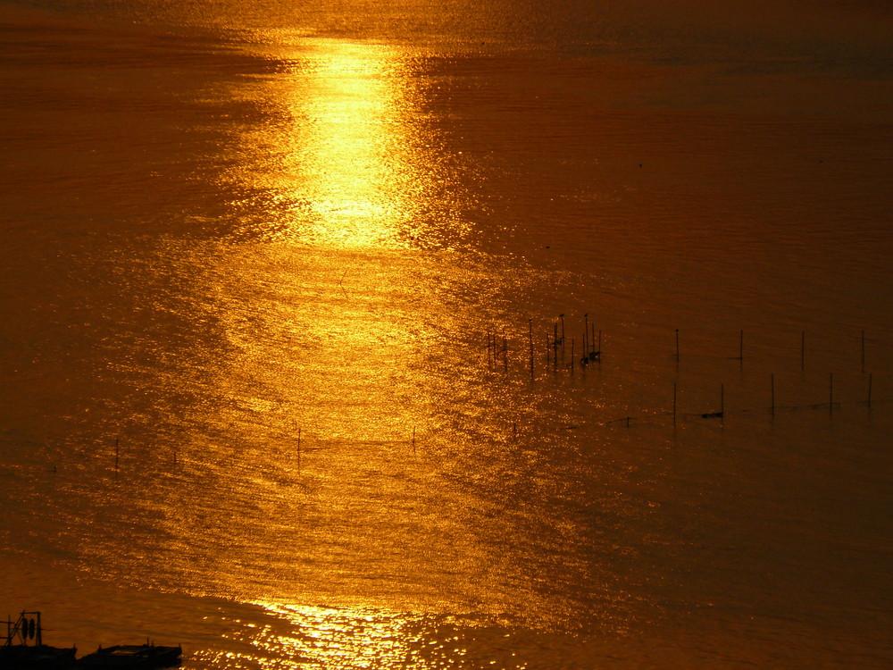 Sunrise at Seomjin River