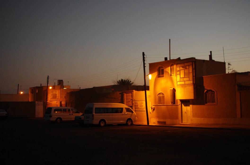 sunrise at silk road...