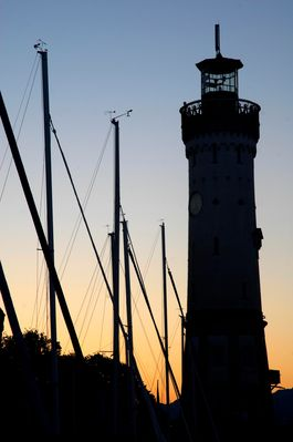 Sunrise at the lighthouse