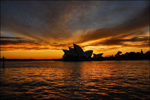 Sunrise at the Opera