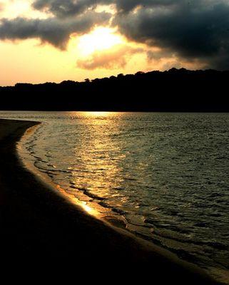 Sunrise at Ujung Kulon (Peucang Island)