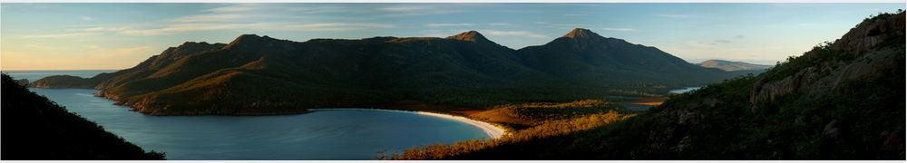 Sunrise at Wineglass Bay