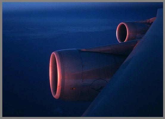 Sunrise auf 747 ...