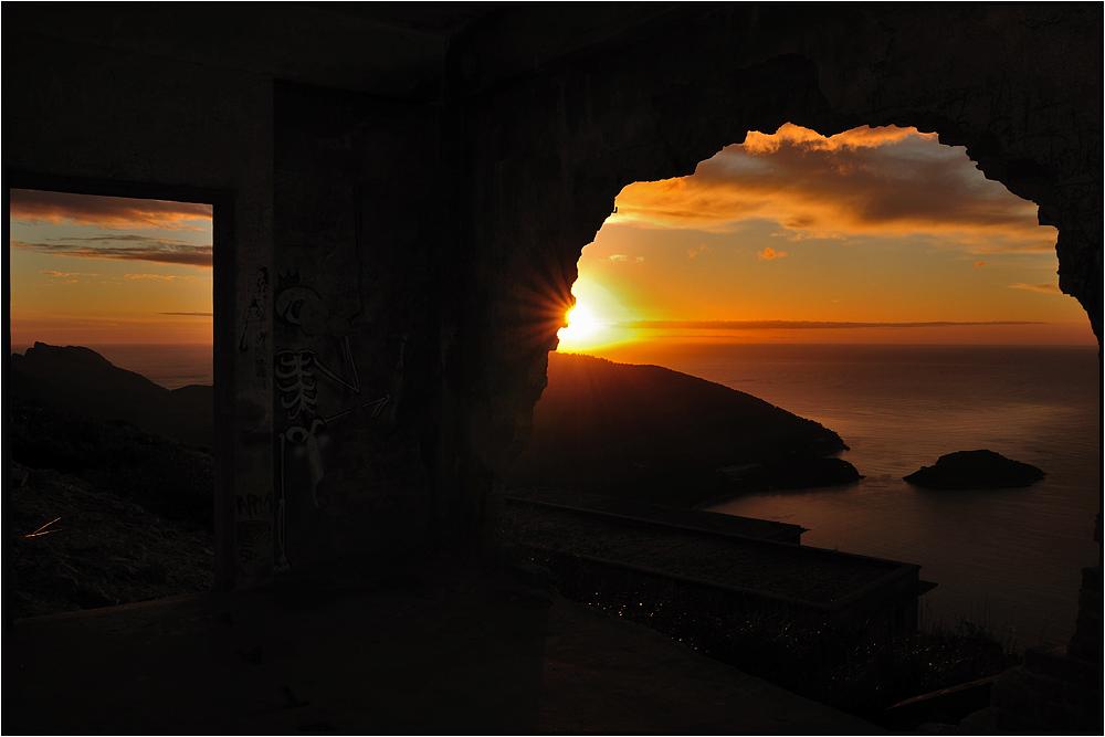 Sunrise auf dem Weg zum Kap Formentor