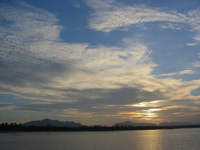 Sunrise auf Koh Lanta