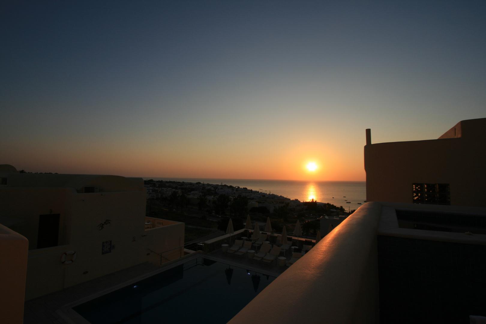 Sunrise auf San Torini