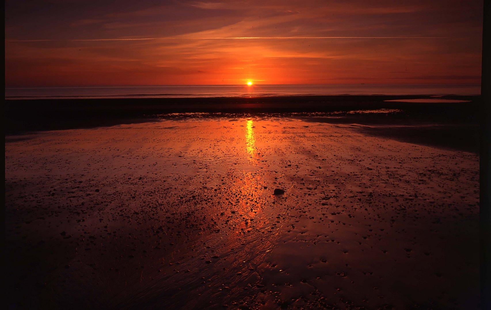 Sunrise Bridlington Bay