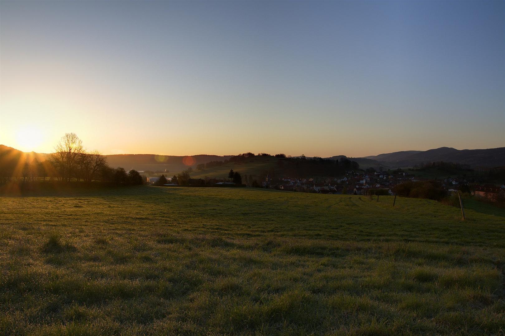Sunrise - Ein neuer Morgen -