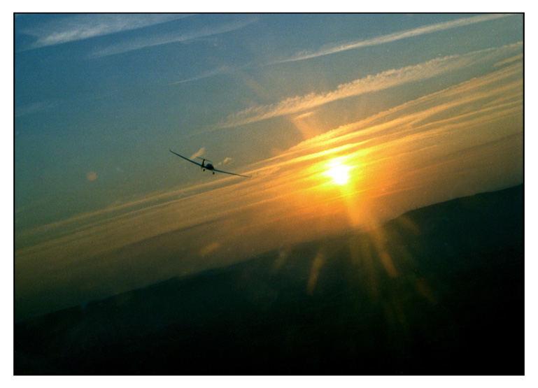 Sunrise - Flug
