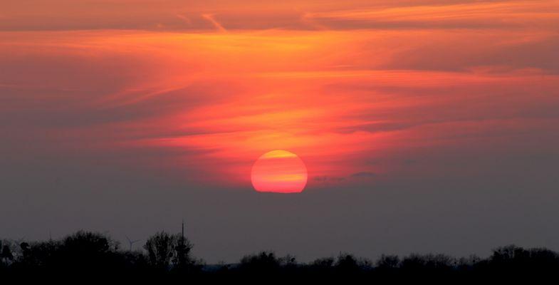 Sunrise im Spektefeld