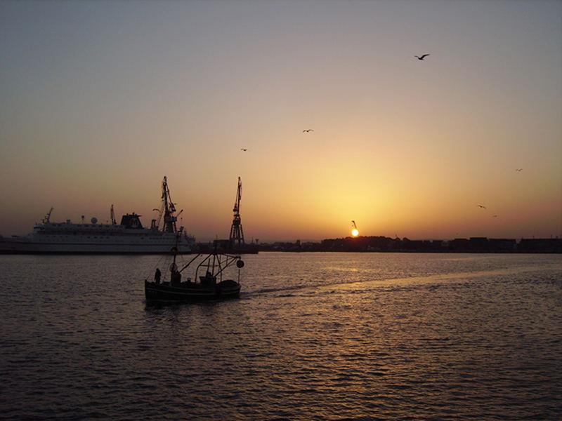 Sunrise in Agadir