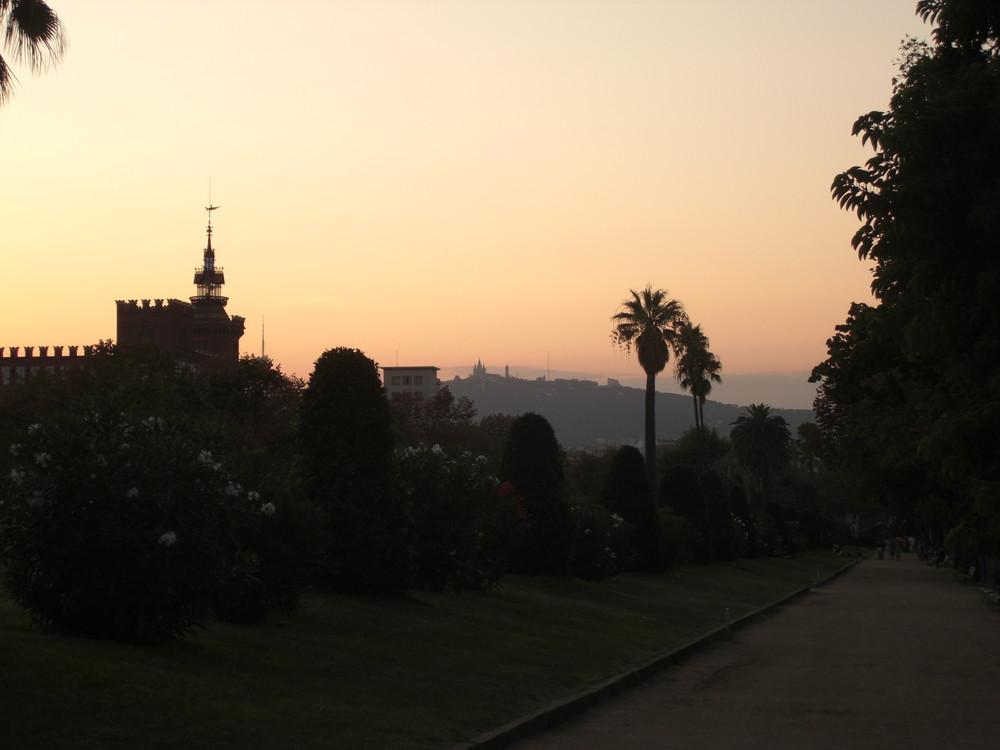 Sunrise in BCN